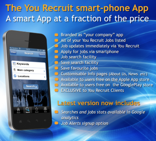 You Recruit App information